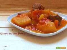 Spezzatino con patate  #ricette #food #recipes