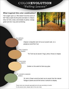in the garden of color on paint combinations
