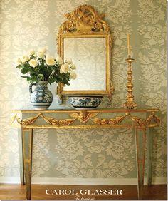 Antique Italian mirror ~ Carol Glasser