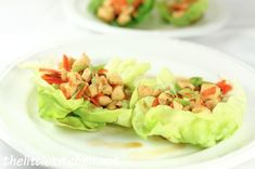 Chicken Lettuce wraps.  Fairly simple, tasty and low carb!