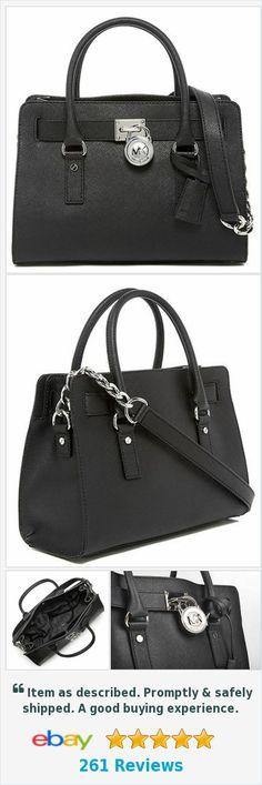Michael Kors Black Silver Saffiano Leather East West Hamilton #tote #style #michaelkors #designherboutique #fashion http://www.ebay.com/itm/NWT-Michael-Kors-Black-Silver-Saffiano-Leather-East-West-Hamilton-Tote-Bag-/132097114473?hash=item1ec19a0169