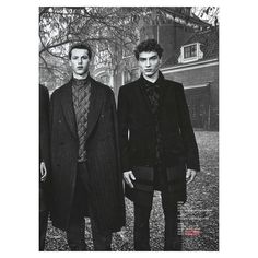 Thank you @winqmagazine for featuring Markus Lupfer AW16 Menswear #markuslupfer #aw16