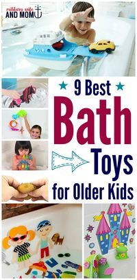 These bath toys for older kids are perfect to keep baths fun.