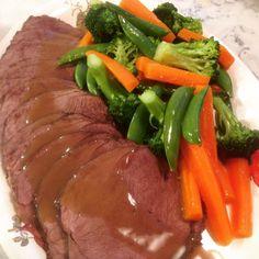 Grytesteik til helgen Nom Nom, Steak, Beef, Food, Meat, Essen, Steaks, Meals, Yemek