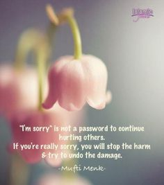 Image result for quotes when sorry is not enough