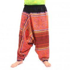 Hmong las colinas Pantalón de Aladdin