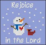 FREE Rejoice SnowmanPattern  and other freebies at site