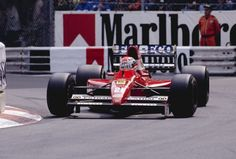 1991 Emanuele Pirro, Dallara 191