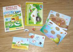 Zählen mit Tierjungen ist ein Spiel von Ravensburger, das Puzzle und Zahlen in einem bietet. Die zehn unterschiedlich großen Puzzleplatten enthalten von einem Puzzleteil bis zehn Puzzleteile. Neben…