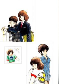 Touch: Touch in love - Minitokyo Adachi Mitsuru, Manga Artist, Japanese Prints, Character Design References, I Love Anime, Anime Style, Illustrations Posters, Manga Anime, Nerd