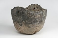 https://flic.kr/p/mKtq7E | Object from the exhibition We call them Vikings produced by The Swedish History Museum | Hanging vessel Ceramic Grave find Husby, Vansö, Södermanland, Sweden. SHM 16340