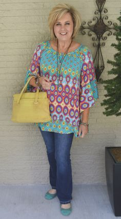 50 IS NOT OLD | THE STARS ARE ALL IN LINE | Colorful | Comfy and Casual | Spring | Transition outfit | Fashion over 40 for the everyday woman