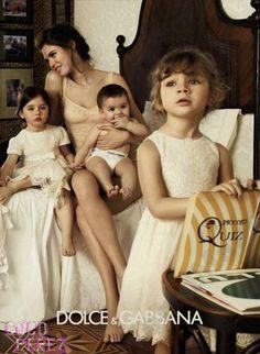 Dolce & Gabbana new ad campaign!  #family