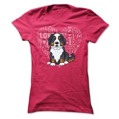 """Bernese Dog_HThe image on the t shirt was very clear and bright, very good quality. 100% Printed in the U.S.A - Ship Worldwide. Select your style then click """"buy it now"""" to order! Buy it with your friends, order together and save on shipping. Thank You ! Bernese ,dog, dogs, love dog, pet, bone, animal, love animal, cartoon, cute, weiner, bulldog, corgi, australian, beagle, hound, labrador, miniature, spotted, active, terrier, feline, poodle, retriever, sheep, basse"""