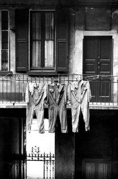 Operai e Cà de Ringhera. Milan Italy