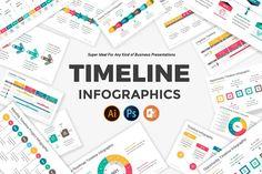 Timeline Keynote Infographics Pack | Creative Keynote Templates ~ Creative Market Excel Dashboard Templates, Powerpoint Template Free, Creative Powerpoint Templates, Best Templates, Keynote Template, Presentation Slides, Business Presentation, Sales Deck, Timeline Project