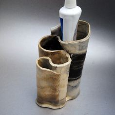 Toothbrush Holder Ceramic by ButlerPottery on Etsy, $34.00