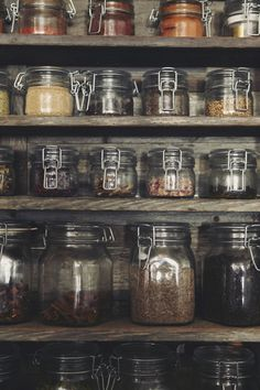 pantry stores. I love jars so much! Don't ask me why I don't know, I just always have.