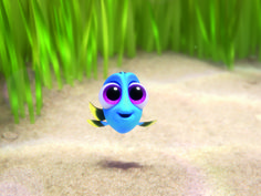 'Finding Dory' Introduces Baby Dory in Cute New Clip - Watch!: Photo Check out this brand new clip from Finding Dory! You get to meet Baby Dory (Sloane Murray) and find out how she separated from her parents after a game of hide… Disney Gifs, Film Disney, Disney Movies, Disney Word, Pixar Movies, Netflix Movies, Disney Stuff, Disneyland, Image Beautiful