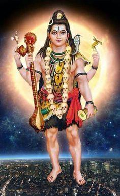 Shiva Yoga, Mahakal Shiva, Shiva Statue, Shiva Art, Krishna Art, Radhe Krishna, Durga Kali, Shri Hanuman, Durga Goddess