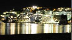 Santa Ponsa at night