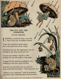 The Elf and the Dormouse ill by Martha E. Miller via girlyme
