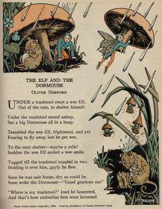 The Elf and the Dormouse ill by Martha E. Miller via girlyme