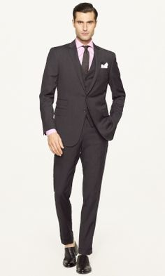 Men's Suits | Navy, Charcoal and Striped Suits | Ralph Lauren