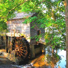 Grist Mill at Stone Mountain, Georgia