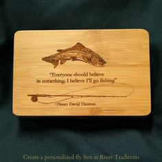 Fly Fishing Quote  Fly fishing seems to bring out the quotes in folks.  Henry David Thoreau