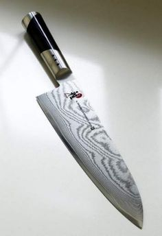 From sword to chopping board ... Japanese knives are the result of 800 years of craftsmanship.