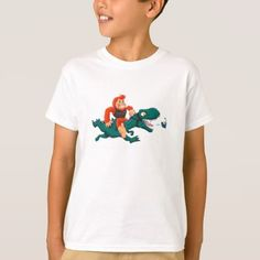 #T rex bigfoot-cartoon t rex-cartoon bigfoot T-Shirt - #dino #shirts