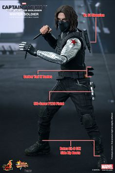 d0a9214f Hot Toys will release a Winter Soldier collectible figure from the 'Captain  America: The Winter Soldier' movie in the third or fourth quarter of