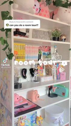 Indie Room Decor, Cute Bedroom Decor, Room Design Bedroom, Aesthetic Room Decor, Small Room Bedroom, Room Ideas Bedroom, Pastel Room Decor, Room Ideias, Otaku Room