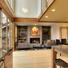 Living Room Kitchen Design, Pictures, Remodel, Decor and Ideas - page 405