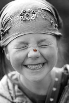 ladybird smile. <3