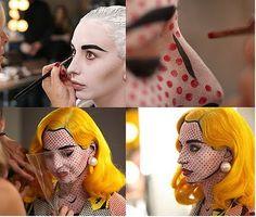 cartoon character makeup
