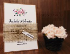 Convite Isabela