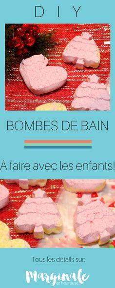 Faire ses bombes de bain maison | À faire avec les enfants | DIY | cadeaux à fabriquer Toddler Crafts, Crafts For Kids, Cadeau Parents, Making Bath Bombs, Bath Bomb Ingredients, Diy Cadeau, Homemade Bath Bombs, Corn Starch, Diy Crochet