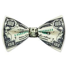 Origami bow tie dollar bills 46 New Ideas Origami 100 Dollar Bill, Fold Dollar Bill, Dollar Bills, 100 Dollar Bill Tattoo, Origami Bow, Money Origami, Oragami, Origami Folding, Cool Bow Ties