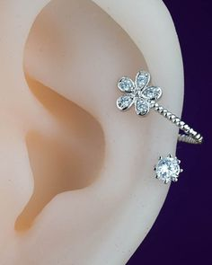 cartilage earring  cartilage piercing  cartilage stud by CBOstudio