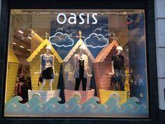 Bonami #Fashion Queens #mannequins in Oasis Argyle Street.  @Oasis Fashion #windows #display #vm www.panachedisplay.co.uk