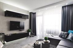 Projekt wnętrza mieszkania w nowoczesnym stylu. - zdjęcie od Katarzyna Rudak - Architektura Wnętrz Gryfów Śląski - Salon - Styl Nowoczesny - Katarzyna Rudak - Architektura Wnętrz Gryfów Śląski