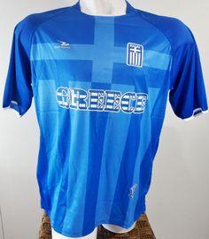 GREECE SOCCER JERSEY T-SHIRT DRAKO FÚTBOL ONE SIZE L FOOTBALL WORLD CUP 2014 #Drako #soccershirts #soccerjerseys #fifaworldcup #football #soccer #worldcup2014 #greece
