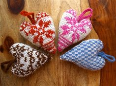 The Counted Sheep. FREE FairIsle Heart Knitting Pattern