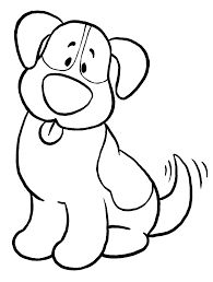 dog template printable | Dog Coloring Pages for Kids – Printable ...