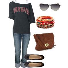 """casual weekend"" by ohsnapitsalycia on Polyvore"