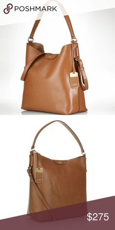 bf397537690 Ralph Lauren tan hobo bag Used in good condition..doesn t come with