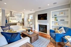 West 8th Ave - Design Project - contemporary - Living Room - Other Metro - Flow Home Staging & Design