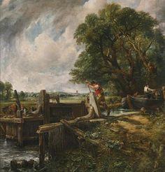 Sale a la venta en Londres una segunda versión de «La esclusa», de Constable